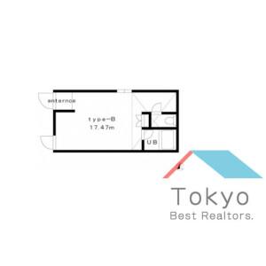 1R Apartment in Ikejiri - Setagaya-ku Floorplan