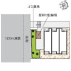 1K アパート 町田市 配置図