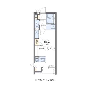 1R Apartment in Shakujiidai - Nerima-ku Floorplan