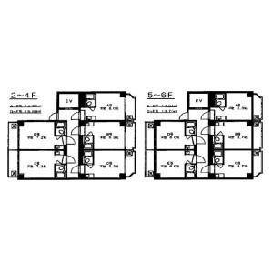 1R Mansion in Nakanocho - Osaka-shi Miyakojima-ku Floorplan