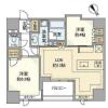 2LDK Apartment to Rent in Chuo-ku Floorplan