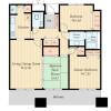 在墨田區內租賃3LDK 公寓大廈 的房產 房間格局