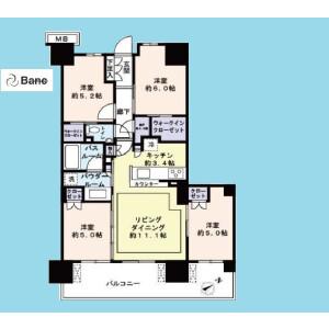 4SLDK {building type} in Hirai - Edogawa-ku Floorplan