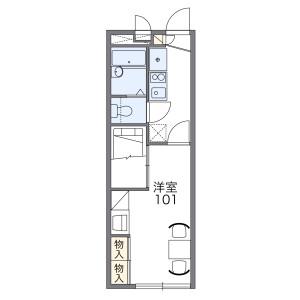1K Mansion in Koyama - Matsudo-shi Floorplan