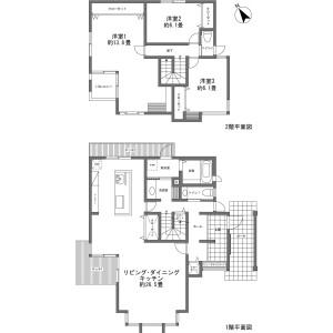 北佐久郡軽井沢町追分-3LDK{building type} 房間格局
