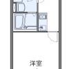 在名古屋市千種區內租賃1K 公寓 的房產 房間格局