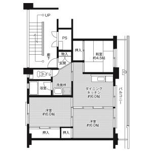 3DK Mansion in Kusushima - Shimanto-shi Floorplan