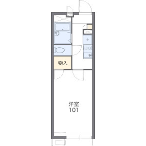 1K Apartment in Dainichihigashimachi - Moriguchi-shi Floorplan