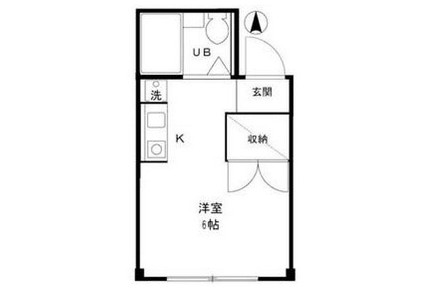 1R Apartment to Rent in Itabashi-ku Exterior