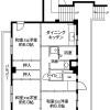 3DK Apartment to Rent in Chiba-shi Hanamigawa-ku Floorplan