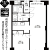 1LDK Apartment to Buy in Koto-ku Floorplan