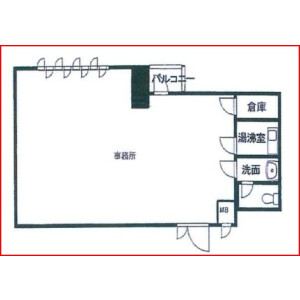 Office - Commercial Property in Osaka-shi Chuo-ku Floorplan