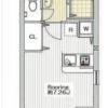 在品川區內租賃1R 公寓大廈 的房產 房間格局