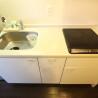 1K Apartment to Rent in Kyoto-shi Shimogyo-ku Kitchen