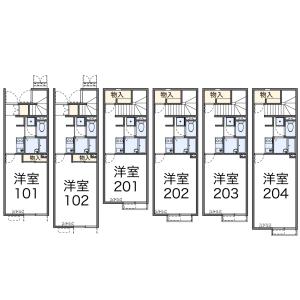 1K Apartment in Waseda minamicho - Shinjuku-ku Floorplan