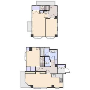 3LDK Apartment in Kamitakada - Nakano-ku Floorplan