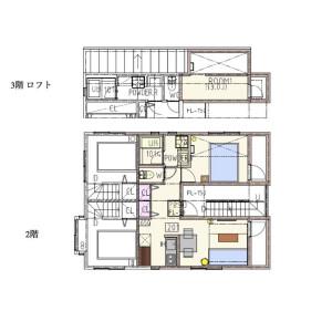 1LDK Apartment in Yayoicho - Nakano-ku Floorplan