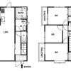 在横須賀市內租賃3LDK 獨棟住宅 的房產 房間格局