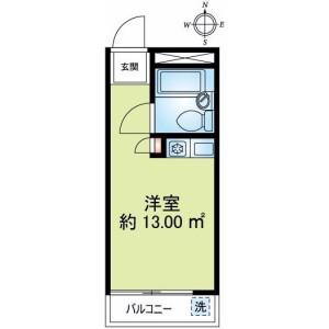 1K {building type} in Asagayaminami - Suginami-ku Floorplan