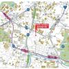 1K Apartment to Rent in Minato-ku Map