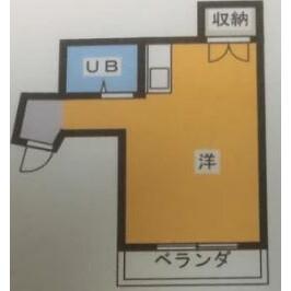 1K Mansion in Yabecho - Yokohama-shi Totsuka-ku Floorplan