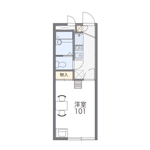 1K Apartment in Izumi - Suginami-ku Floorplan