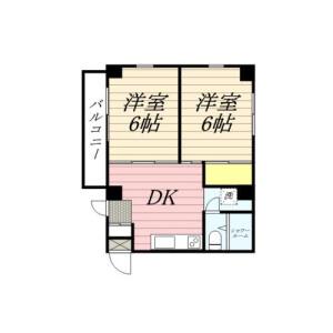 2DK Mansion in Sengoku - Bunkyo-ku Floorplan