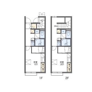 1K Apartment in Joto - Kofu-shi Floorplan