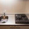 1R Serviced Apartment to Rent in Osaka-shi Kita-ku Kitchen