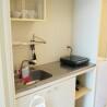 1K Apartment to Rent in Kyoto-shi Nakagyo-ku Kitchen