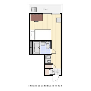 1R Mansion in Taishido - Setagaya-ku Floorplan