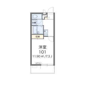 1K Mansion in Sekimachiminami - Nerima-ku Floorplan