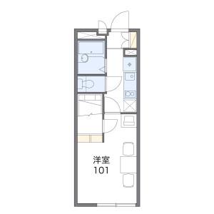 1K Mansion in Kurumadacho - Nagoya-shi Showa-ku Floorplan