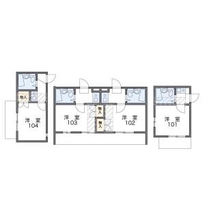 1K Apartment in Nogata - Nakano-ku Floorplan