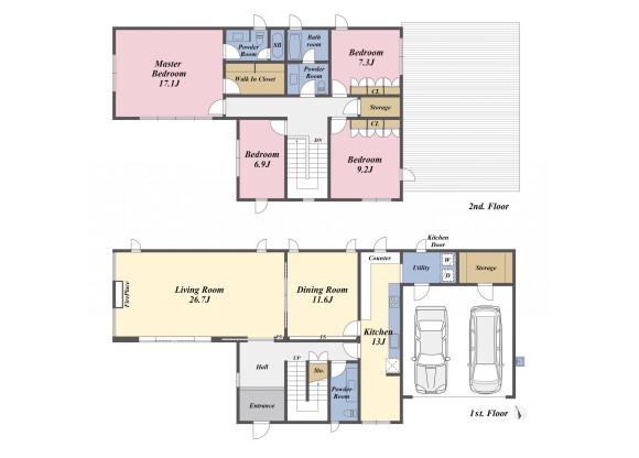4SLDK House to Buy in Shinagawa-ku Floorplan