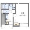 在津島市內租賃1K 公寓 的房產 房間格局