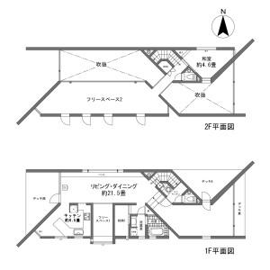 足柄下郡箱根町仙石原-1LDK{building type} 房間格局