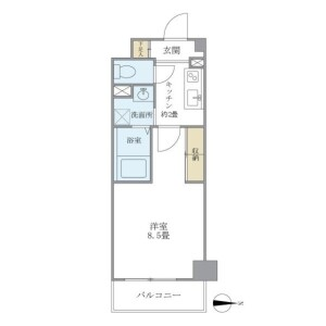 1K Mansion in Tagara - Nerima-ku Floorplan