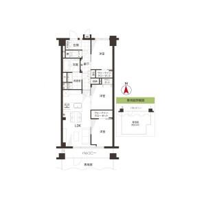 3LDK {building type} in Wakaba - Shinjuku-ku Floorplan