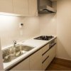 1LDK Apartment to Rent in Meguro-ku Kitchen