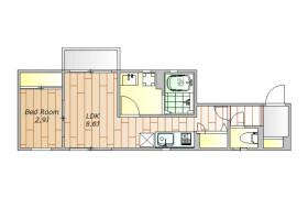 1LDK Apartment in Minamishinagawa - Shinagawa-ku