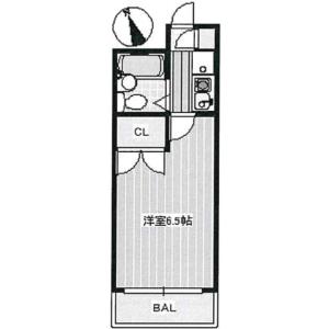 1K Mansion in Kaizuka - Kawasaki-shi Kawasaki-ku Floorplan