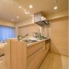 在中央區購買1R 公寓大廈的房產 廚房
