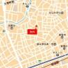 1DK Apartment to Rent in Nakano-ku Map
