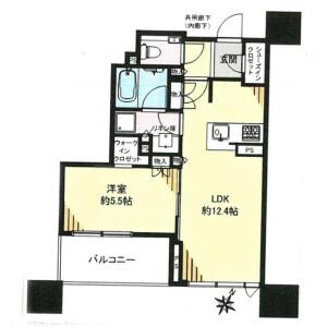 1LDK Mansion in Minamiikebukuro - Toshima-ku Floorplan
