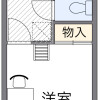 1K Apartment to Rent in Osaka-shi Ikuno-ku Floorplan