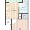 2K Apartment to Buy in Nakano-ku Floorplan