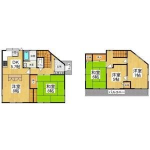 5K {building type} in Minamioizumi - Nerima-ku Floorplan