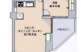 1LDK {building type} in Nanotsu - Fukuoka-shi Chuo-ku