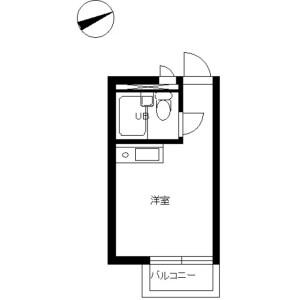 1R Mansion in Kitashinagawa(1-4-chome) - Shinagawa-ku Floorplan